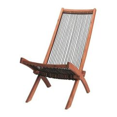 Summer Chaise Lounge Chairs Recycled Adirondack Ikea Deck Chair Acacia Wood String Twine Rope Mid-century Modern Outdoor Furniture | Home Decor ...