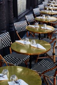love these chairs with the gold tables! - ACE Hotel | For ...