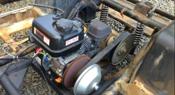 Easy Go Gas Golf Cart Wiring Diagram These Guys Replaced Their Blown Golf Cart Motor With A