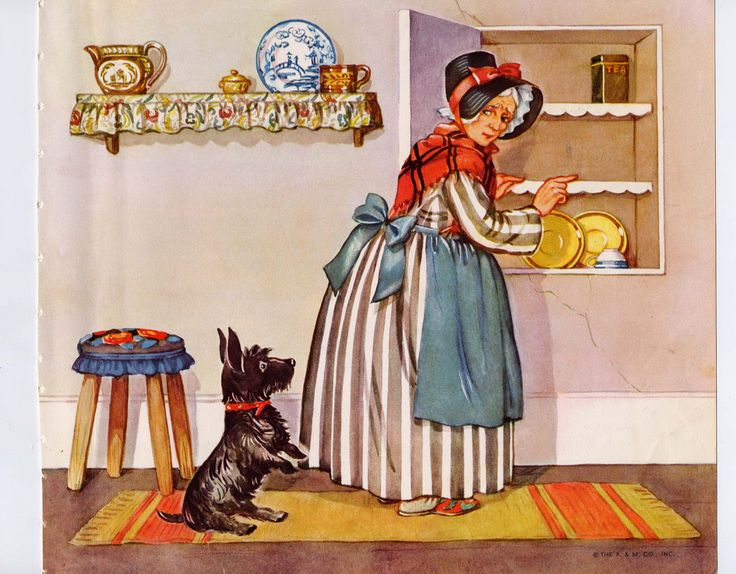 Piece of Clareity as Old Mother Hubbard