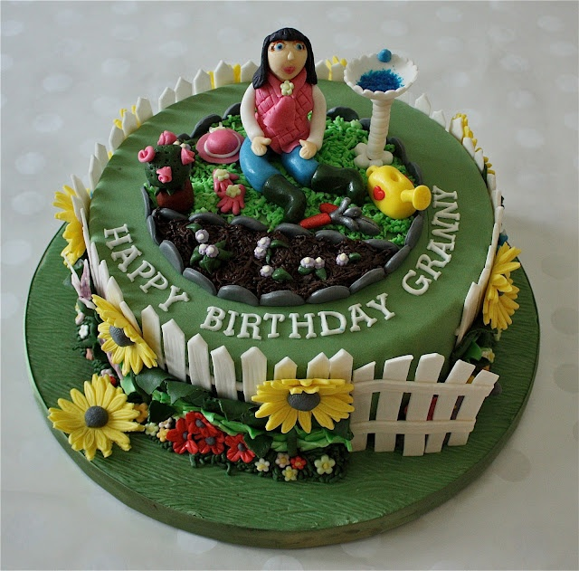 513 Best Images About Cakes Garden Party On Pinterest Sugar