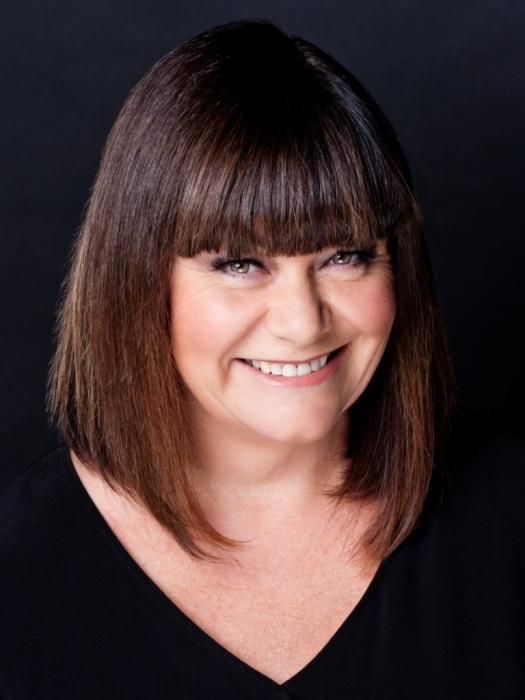 Dawn French In A Long Bob Hair The Bob Pinterest