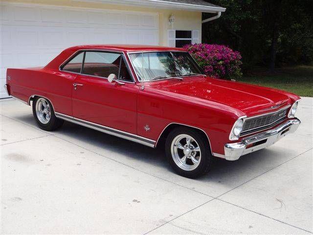 1966 Chevrolet Nova 66 NOVA SS 327350 L79 V8 4Speed