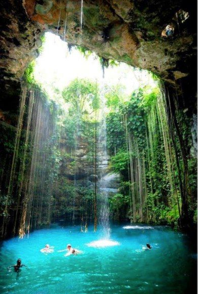 Cave in Kefalonia, Greece