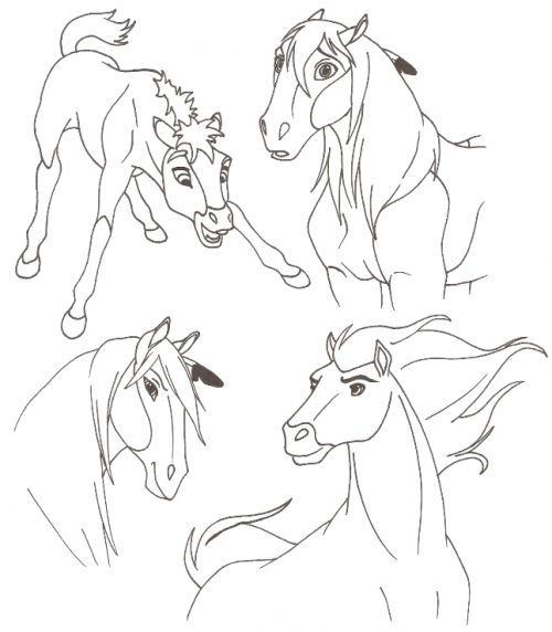31 best images about spirit coloring pages on pinterest