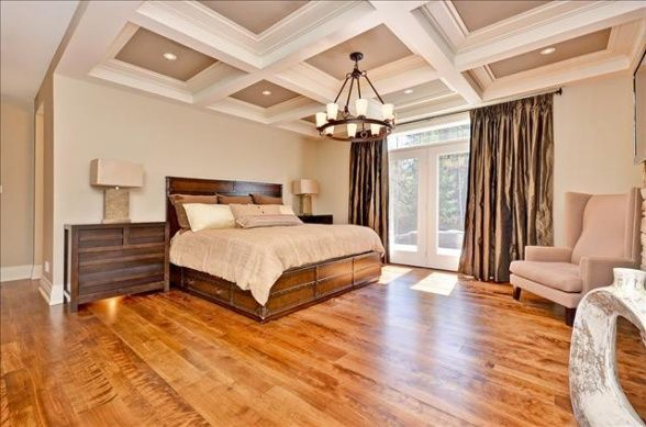 A master bedroom fit for a queen Carrie Underwood and Mike Fisher have listed their 11acre