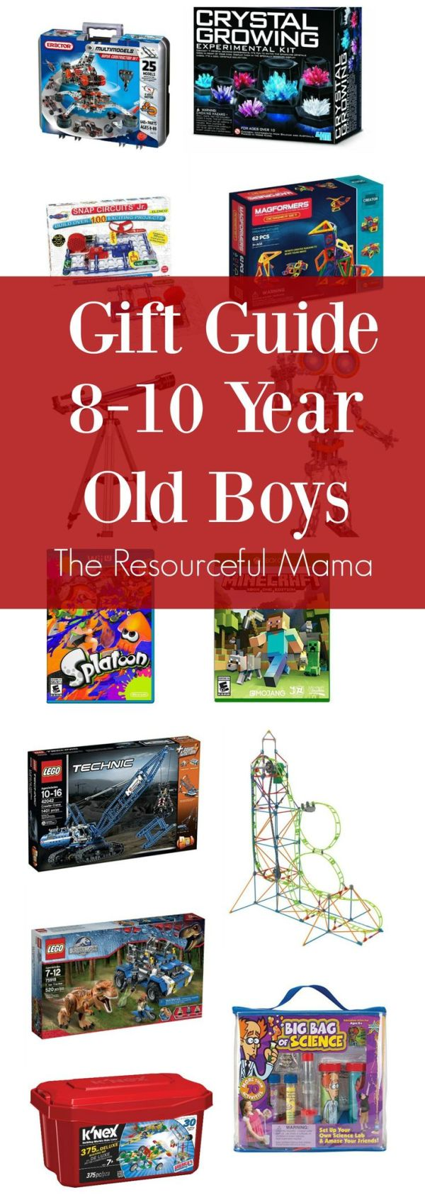 Gift Ideas 810 Year Old Boys Stem science Birthdays