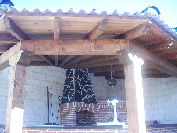 living room color palette ideas decorating art deco de carambuco en esquina con tejado y vigas madera ...