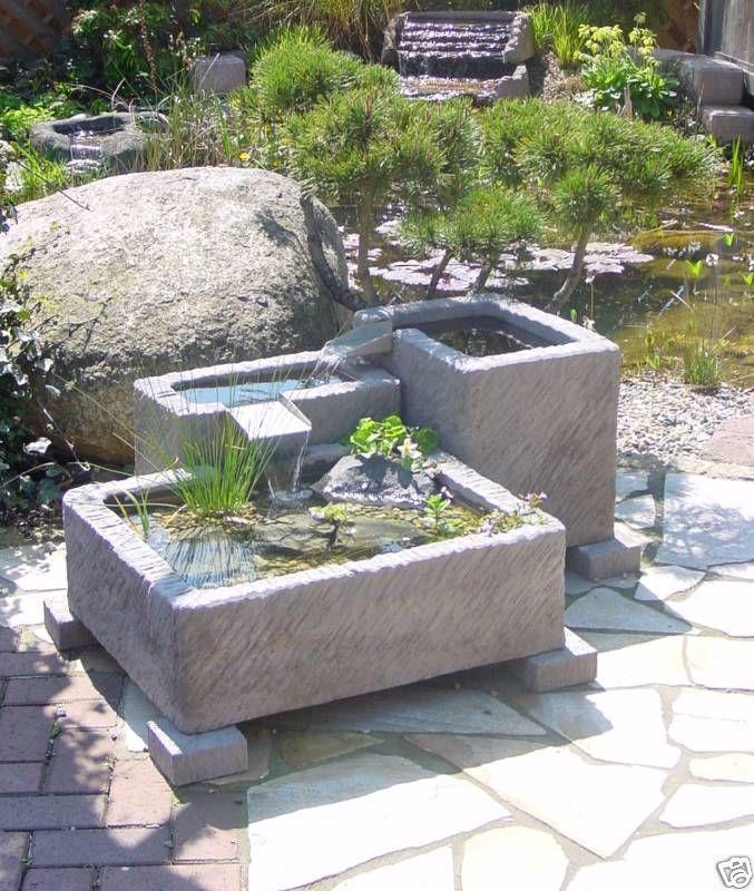 gartendeko ideen brunnen gartengestaltung ideen wasser | moregs, Garten und erstellen