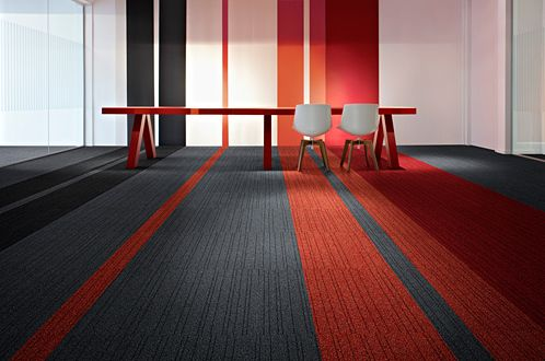 commercial carpet tiles This is a fun idea  office  Pinterest  Vinyls Be cool and Industrial
