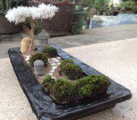 Mini Japanese Zen Rock Garden