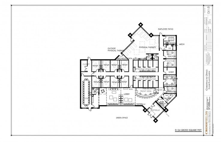 17 Best images about Chiropractic Floor Plans on Pinterest