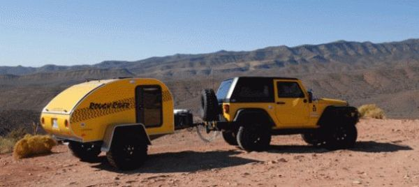 Towing Tips Jeep Wrangler Little Guy Teardrop Trailers