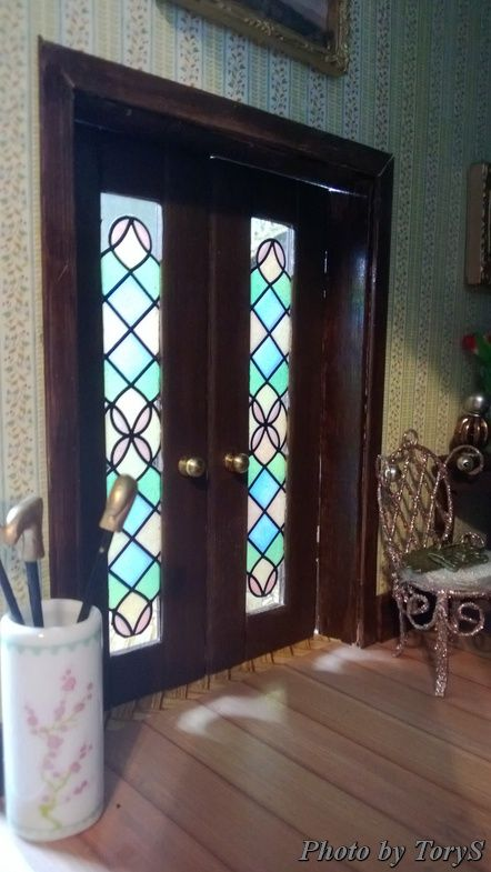 17 Best Images About Miniature Doors And Windows On