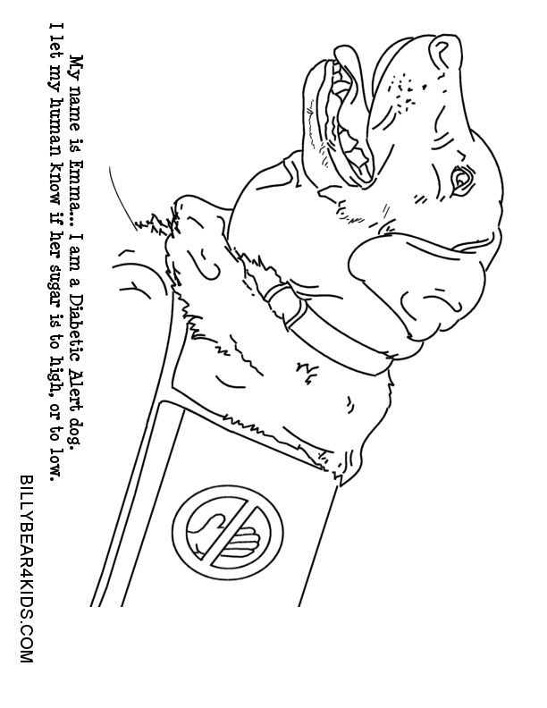 Diabetes Charts Coloring Pages Coloring Pages