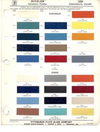 PPG Automotive Paint Color Chips   Do: Color Schemes ...