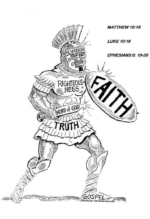 52 best Bible Lesson: Armor of God images on Pinterest