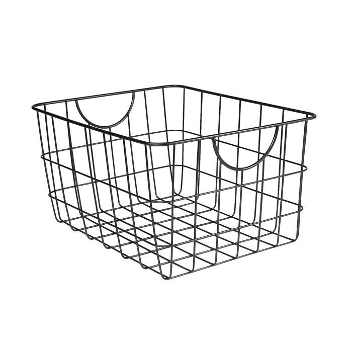 17 Best Ideas About Metal Baskets