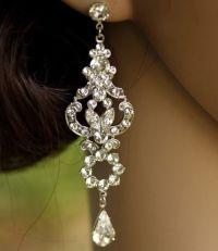 17 Best ideas about Bridal Chandelier Earrings on ...