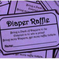 diaper raffle free printable | Free Printable Diaper ...