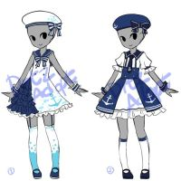 Adoptable : Simple Sailor Lolita Outfits [CLOSED] by ...