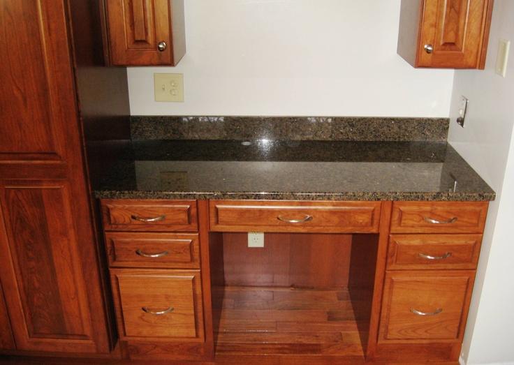 Granite Top For Built In Desk Area Lightner Granite Amp Marble Inc Home Sweet Home Pinterest