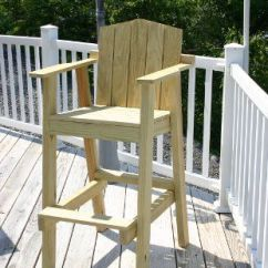 Wooden Beach Chairs Plans Blue Swivel Chair Uk Tall Deck - Woodworking Projects &
