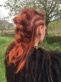 25+ bsta Viking braids iderna p Pinterest | Faux mohawk ...
