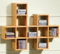 cool and different CD shelf