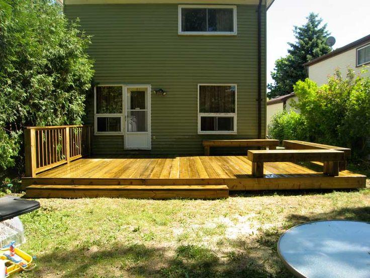 25 best ideas about Small backyard decks on Pinterest  Small deck space Back deck ideas and
