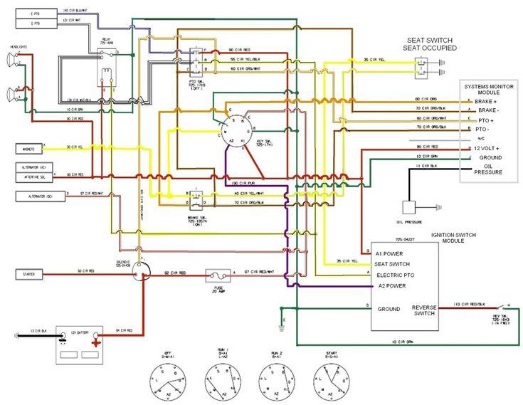 kohler magnum 20 hp wiring diagram 4 3 vortec craftsman riding mower electrical | re: cub cadet lt1045 pto disengaging lawnmowers ...