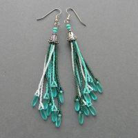 Best 25+ Seed bead earrings ideas on Pinterest
