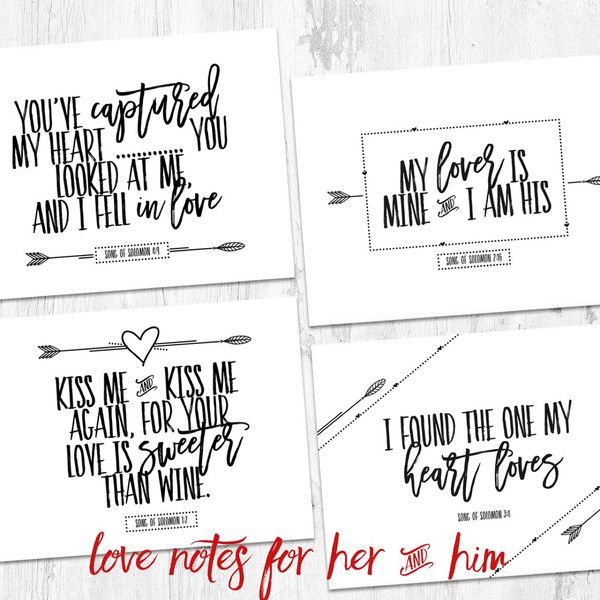 25+ best ideas about Love notes for her on Pinterest
