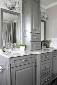 Gorgeous Gray: Kitchens and Bathrooms with Modern Gray