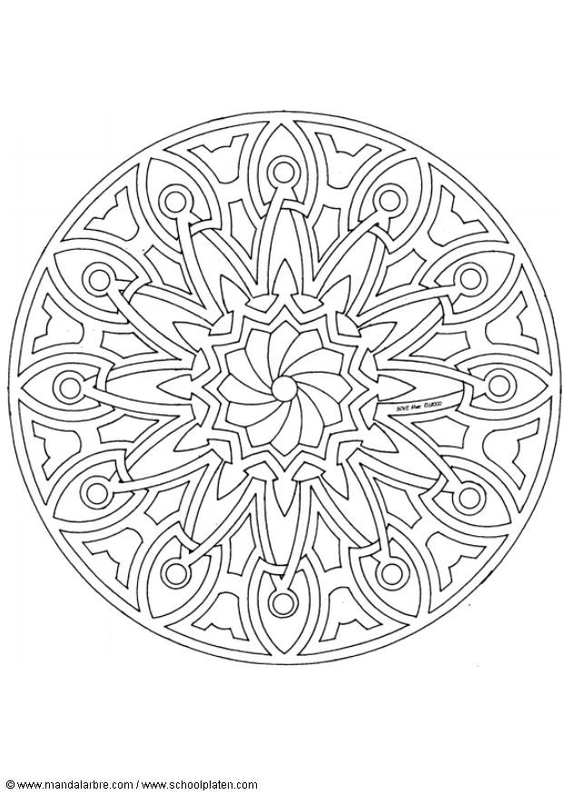 10 Best images about Coloring pages, mandelas & zentangles