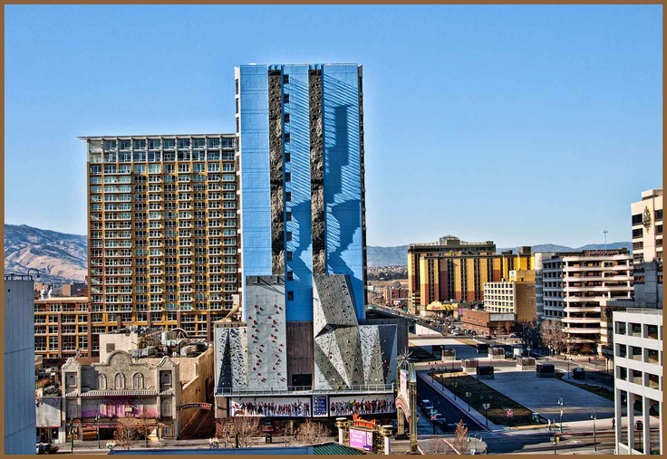 CommRow The worlds tallest climbing wall  Only in Reno Tahoe  Pinterest  The ojays
