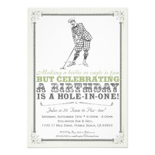 1000+ images about Golf birthday theme on Pinterest