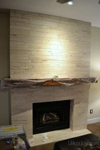 Family Room Fireplace Makeover: Before | DIY Projects to ...