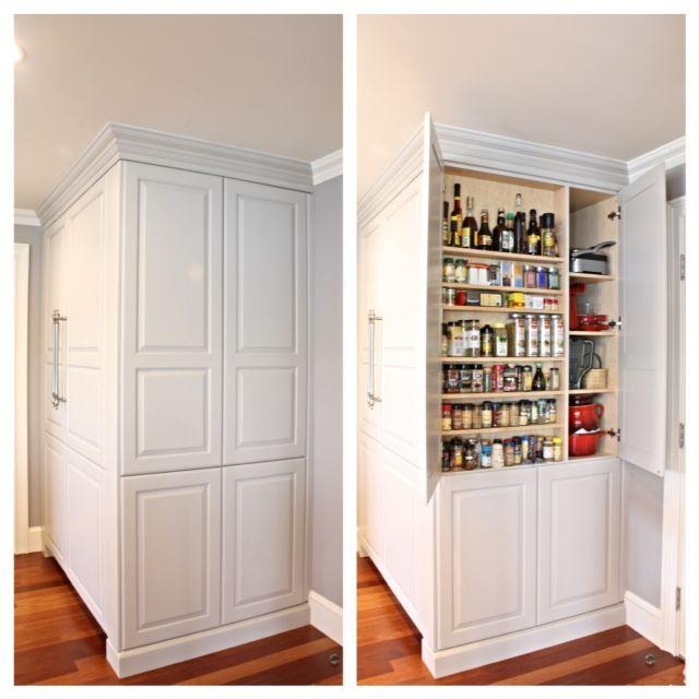 """Kitchen Pantry Large Custom Pantry 12"""" Deep Matching"""