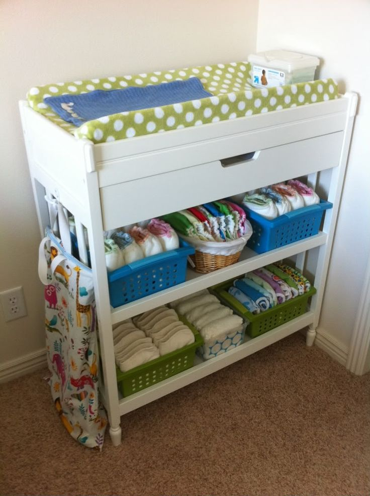25 Best Ideas about Changing Table Storage on Pinterest  Changing station Changing table