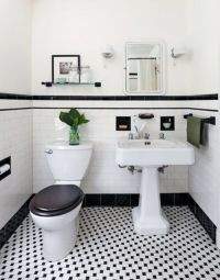 Best 25+ Black white bathrooms ideas on Pinterest ...