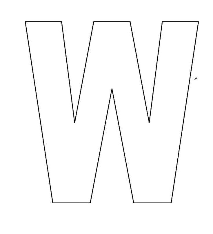 Alphabet-Letter-W-Template-For-Kids.jpg 2,000×2,200 pixels