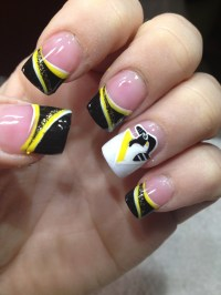 1000+ ideas about Hockey Nails on Pinterest | Sport nails ...