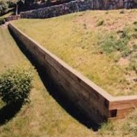 1000+ ideas about Railroad Tie Retaining Wall on Pinterest ...