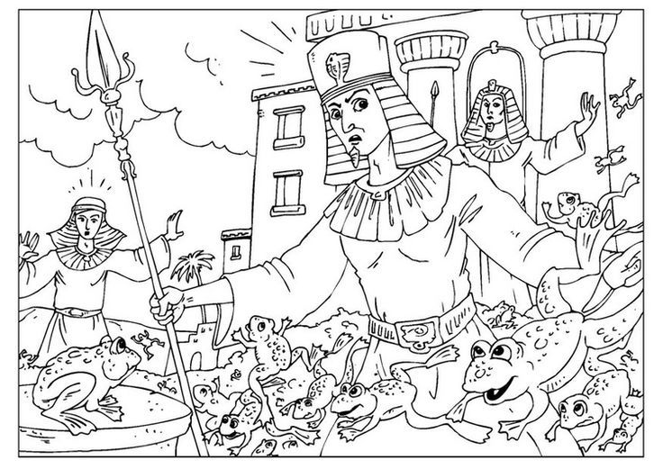 11 best Exodus Coloring Pages images on Pinterest