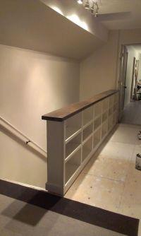 Half Wall Instead Of A Stair Railings | Joy Studio Design ...