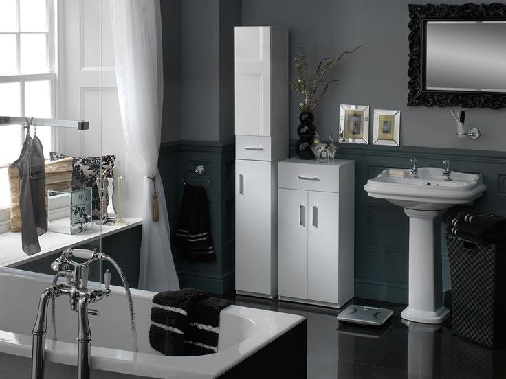 Black And Silver Bathroom Ideas