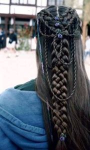ideas medieval hair