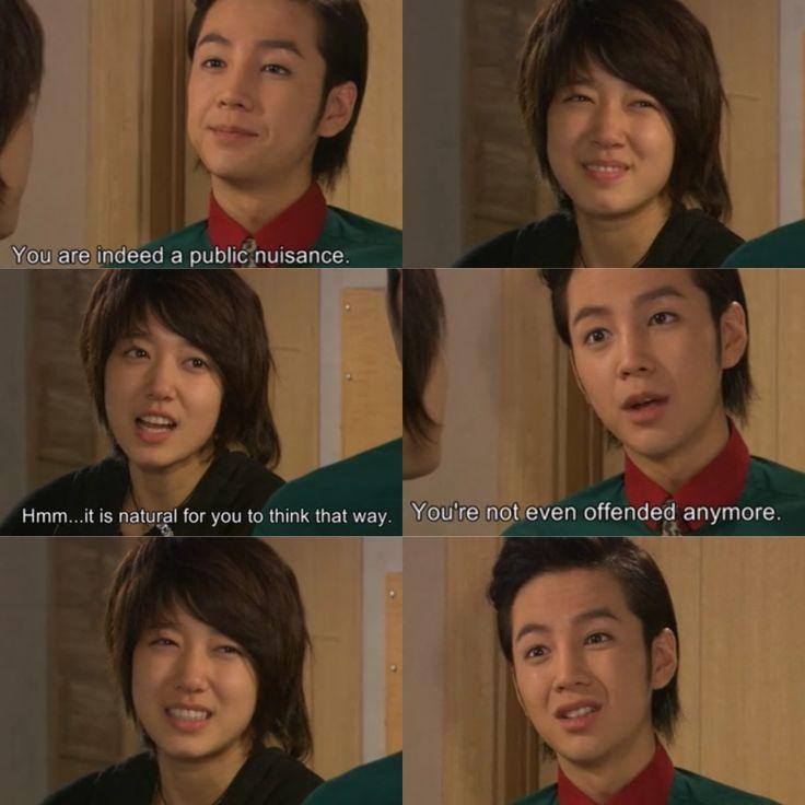 Jang keun suk and park shin hye in korean drama youre