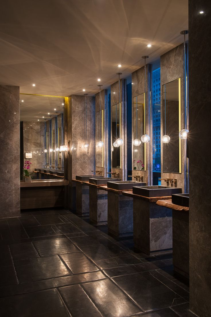 Grand Hyatt Shenyang China Restrooms  Illuminate